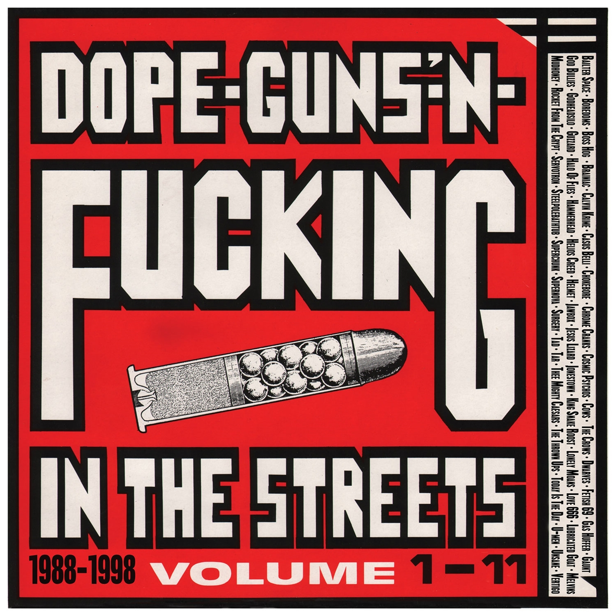 Uk Music Cds Dvds Vinyl Books Accessories And Ciao Wiring Diagram Detroit Burbs Dope Guns Fucking In The Streets 1988 1998 Volume 1 11 2cd