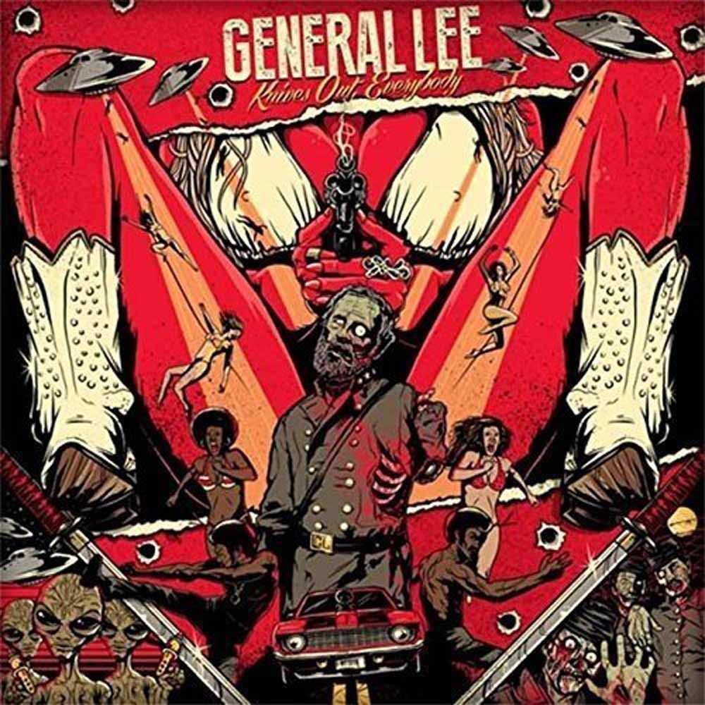 General Lee Knives Out, Everybody! Vinyl Lp